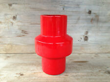 UNBEKANNT Vase / Mid-Century West Germany Vintage Pottery / sign ---/20 cm