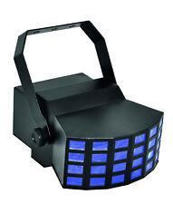 EUROLITE LED D-400 STRAHLENEFFEKT RGBAW DOUBLE DERB DJ PA DMX LICHT PARTY DISCO