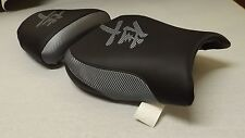HAYABUSA 99/00/01/02/03/04/05/06/07 GSXR1300 FRONT&REAR SEAT COVERS BLACK/GREY
