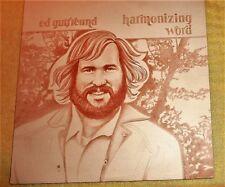"""VINYL LP by ED GUTFREUND """"HARMONIZING WORD"""" / COMPLETE w/ POSTER"""