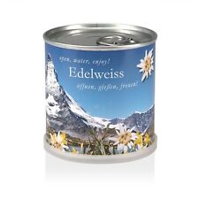 Edelweiss - Blumen in der Dose von MacFlowers