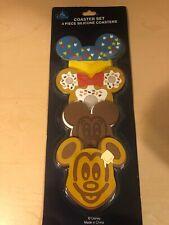 New listing Walt Disney World Disneyland Mickey Mouse Food Silicone Coaster Set