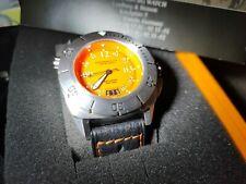 Lindburgh & Benson Schaumberg Watch Diving Orange 42mm automatic