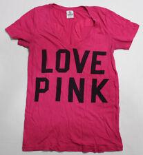 Womens PINK Victorias Secret Pink T Shirt SIZE Small S Petite SP Short Sleeve