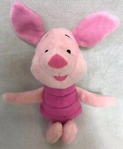 "Fisher Price 2002 Winnie The Pooh & Friends PIGLET 10"" Plush Toy Disney B1857"