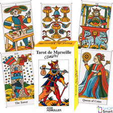 TAROT DE MARSEILLE CONVOS DECK CARDS RUSSIAN EDITION OTTO SPALINGER TELLING AGM