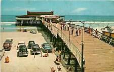 Florida, FL, Jacksonville, Fun at the Beach 1959 Postcard