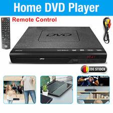 1080P Full HD DVD Player Fernbedienung CD Spieler Hochskalieren AV USB MP3 Video