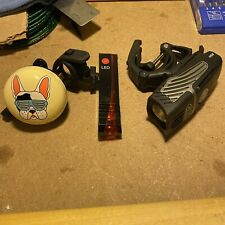 NiteRider Lumina Micro 850 Bike Front Headlight + Rear LED / Laser Light