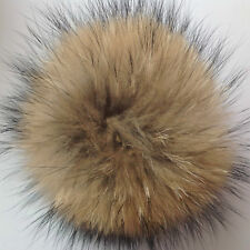 457bc14681e Faux Raccoon Fake Fur Hair HUGE Ball Fluffy Pompom Hat Bag Shoses Accessory
