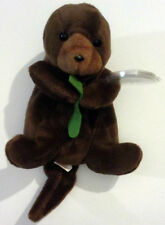 SEAWEED™ THE OTTER  Ty™ 4TH GEN BEANIE BABY GERMAN ERRORS 1995 EXTREMELY RARE!