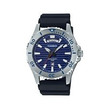 2a0ef245a23 Casio MTD-1087-2A Marine Sports Relógio Masculino Pulseira De Resina Preto  MTD-1.