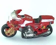 Micro Machines Motorcycle Laverda RGS1000 Italian Street Bike Vehicle Red White