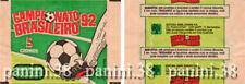 "RARE !! Pochette ""CAMPEONATO BRASILEIRO 1992"" packet, tüte, bustina PANINI 92"