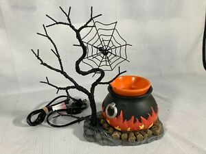 Scentsy Hocus Pocus Wax Warmer Full Size Halloween Rare Retired