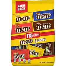 M&M'S Fun Size Milk Chocolate Candy Bulk Variety Mix (65.5 oz., 115 pc.)