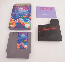Tetris Original Nintendo Game Box Booklet Cartridge (D2L) 1989
