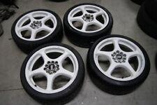 """ASA 17"""" Alloy Wheels / Tyres 17x7J 5x100 5x114.3 205 40 17 Tyres"""