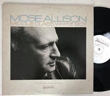 MOSE ALLISON Middle Class White Boy LP VG+ vinyl ELEKTRA MUSICIAN (1982)
