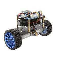 Self-Balancing Motor Car 2WD Metal Smart Car Chassis Balance Base W/ Encoder 12V