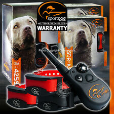 Stubborn SportDOG SD-425s FieldTrainer 500 Yd Remote Training Shock Collar 3-Dog