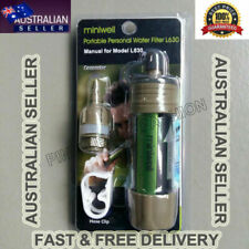 1000L Portable Water Filter Purifier Outdoor Camping Survival Straw Gear Tool