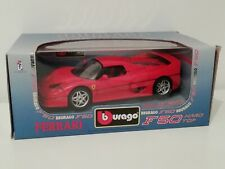 Ferrari F50 burago Modellino di auto Versione Hard top in scala 1:18   1/18