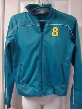 Womens juniors HOLLISTER track jacket sweatshirt, sz M