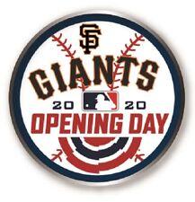 SAN FRANCISCO GIANTS SF 2020 OPENING DAY PIN MAJOR LEAGUE BASEBALL WORLD SERIES?