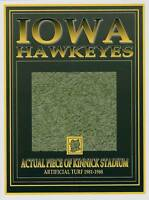 Iowa HAWKEYES Kinnick Stadium turf piece