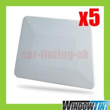 "5x 4 ""de teflón Borde Escurridor Blanco ventana de entintado herramienta Signo De Vinilo"