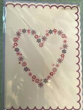 BEAUTIFUL Papyrus Valentine's Day Card with daisy heart  jewels!