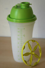Tupperware Quick Shake - Blender / Mixer / Shaker 2cups Margarita/Green Seal New