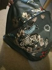 Bugaboo Bee 5 Botanical Denim Hood 🦋Excellent Used Condition 🌸 Hood Only 🌸
