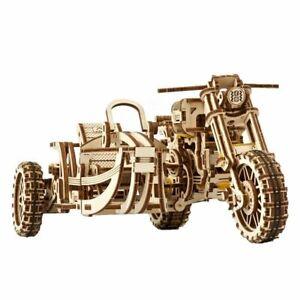 Mechanical UGEARS wooden 3D puzzle Model SCRAMBLER UGR-10 Construction Set