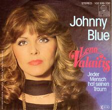 "7"" JUKE-BOX Single LENA VALAITIS / Johnny Blue 1981"
