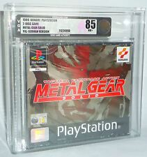 Metal Gear Solid-Sony Playstation 1 ps1 psx NEUF NEW SEALED fait un nœud vga85