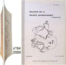 Meunerie à eau moulin Meuves St Maur/Loir Guillaumin - Loger le curé au XVIIIème