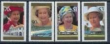 Samoa Nr. 829-832 postfrisch / **, Queen Elizabeth II. (29607)