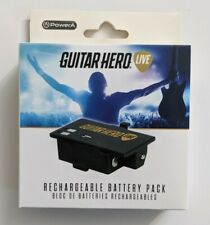 Power A Rechargeable Guitar Power Battery Pack, Guitar Hero Live, New