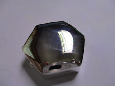 Sterling Silver Pill Box Hexagon Shape solid 925 silver Halmarked 1 1/8 long