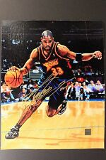 ANTAWN JACKSON Warriors 2000/01 Topps Reserve 8x10 Canvas Autographed Photo 16D