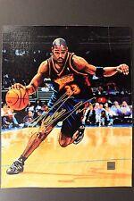 ANTAWN JACKSON Warriors 2000/01 Topps Reserve 8x10 Canvas Autographed Photo 16D