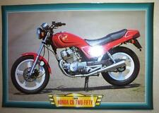 HONDA CB TWO-FIFTY 250 TWIN CLASSIC MOTORCYCLE BIKE 1990'S PICTURE PRINT 1995