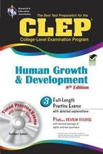 CLEP Test Preparation: CLEP Human Growth and Development by Research & Education