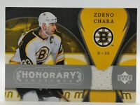 🐻 ZDENO CHARA - Trilogy Honorary Swatches - GAME WORN JERSEY 🏒  BRUINS