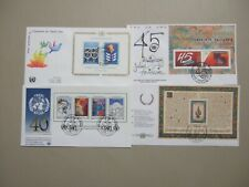Four UN fdc with SS