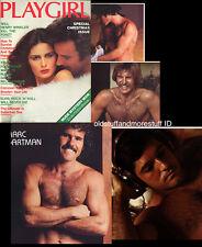 PLAYGIRL 12-77 HAIRY MORLEY & MARC! ELVIS NUDE FIREMEN HENRY WINKLER DEC 1977