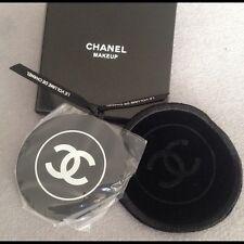 New Chanel Makeup Pocket Mirror in Black Case