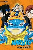 Naruto 3-in-1 Edition 5 by Masashi Kishimoto, NEW Book, FREE & FAST Delivery, (P